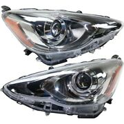 Headlight Lamp Left-and-right To2502236c, To2503236c 8111052k70, 8115052k70