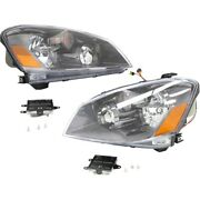 Hid Headlight Lamp Left-and-right Hid/xenon Ni2502158 Ni2503158 Lh And Rh