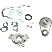 Oil Pump Timing Chain Kit Timing Cover Gasket For 2000-2006 Chevrolet Tahoe Kit