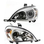 Headlight Lamp Left-and-right For Mercedes Ml Class Lh And Rh Mb2502114, Mb2503114