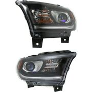 68184826af, 68184827af Ch2503255, Ch2502255 Headlight Lamp Left-and-right
