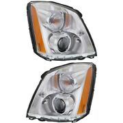Gm2503275 Gm2502275 Hid Headlight Lamp Left-and-right Hid/xenon Sedan Lh And Rh