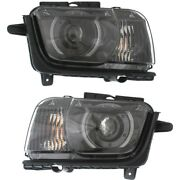 Hid Headlight Lamp Left-and-right For Chevy Hid/xenon Gm2502340c, Gm2503340c