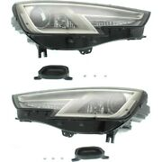 Hid Headlight Lamp Left-and-right Hid/xenon Lh And Rh For A4 Au2503203, Au2502203