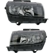 Headlight Lamp Left-and-right For Chevy Gm2502391c, Gm2503391c Lh And Rh Camaro