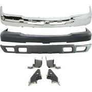 Set Of 5 Bumper Covers Front For Chevy Avalanche Chevrolet Silverado 1500 Truck