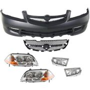 Kit Auto Body Repair Front For Acura Mdx 2001-2003