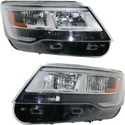 Fo2518129, Fo2519129 Hid Headlight Lamp Left-and-right Hid/xenon Lh And Rh