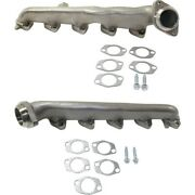 Exhaust Manifolds Set Of 2 Left-and-right For E350 Van Econoline F250 Truck Pair
