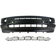 Bumper Cover And Bumper Grille Kit For 2000-2003 Bmw X5 Front Primed