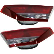 Tail Lights Lamps Set Of 2 Left-and-right Inside Hy2802138 Hy2803138 Pair