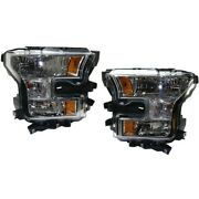 Fo2502335c Fo2503335c Headlight Lamp Left-and-right For F150 Truck Lh And Rh Ford