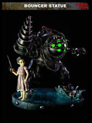 Bioshock Big Daddy Bouncer Exclusive Statue Light Up + Little Sister 20 Poly