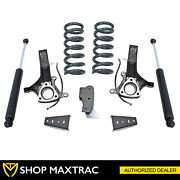 Maxtrac 4.5 Front 3 Rear Leveling Lift Kit K882443 For 2009-2018 Ram 1500 2wd