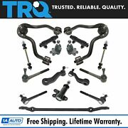 Trq Front Tie Rod Ball Joint Sway Link Control Arm Steering Suspension Kit 16pc