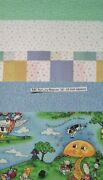 20 10 Quilting Fabric Squares Layer Cake Pre Cut Quilting Abc Nursery Rhymes