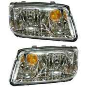 Headlight Lamp Left-and-right For Vw Lh And Rh Jetta 02-05 Vw2503125 Vw2502125