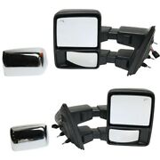 Fo1321480, Fo1320480 Mirrors Set Of 2 Left-and-right Heated For F150 Truck Pair