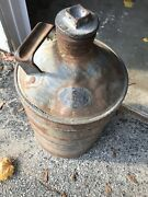 Vintage Oil Gas Can Standard Oil Brass Tag