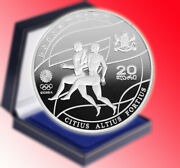 Collector Coin - Georgia 20 Lari Beijing 2008 Olympic Game Silver Proof Coin