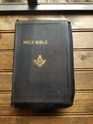 1 Holy Bible Masonic Edition Vintage 1936 / 2 Available