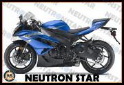 For 2009-12 Zx-6r Zx636 Abs Plastic Injection Mold Full Fairing Set Bodywork P15