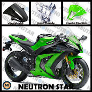 For 2011-15 Zx-10r Zx10 Abs Plastic Injection Mold Full Fairing Set Bodywork P06