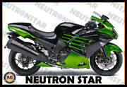 For 2012-20 Zx-14r Zx14 Abs Plastic Injection Mold Full Fairing Set Bodywork P12