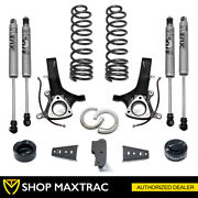 Maxtrac 6.5 Front 4.5 Rear Lift Kit K882465f For 2009-2018 Ram 1500 2wd V6 Gas