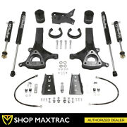 Maxtrac 6.5 Front 4 Rear Leveling Lift Kit + Shocks For 2009-2018 Ram 1500 2wd