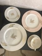 Lenox Harvest Wheat China Pattern , 5 Piece Place Setting, Total Of 6 Settings