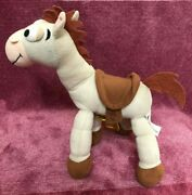 Disney Pixar Toy Story Bullseye Horse Soft Toy With Poseable Jointed Legs 30cm