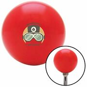 Motorcycle Speedracer Red Shift Knob W/ M16x1.5 Insert Shifter Auto Manual Brody