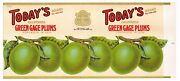 Original 1920s Vintage Todays Can Label Green Gage Plums San Francisco Armsby