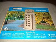Creatology 3d Wooden Puzzle Phone Booth For Age 6+ Easy To Build