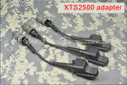 1pc Xts2500 Adapter To Connect Tactical Ptt / Earphone / Mic For Ht1000 Radio