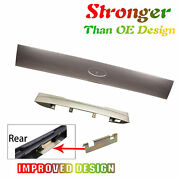 Upgraded Rear Hatch Tailgate Plate License Shield Handle For Ford B2 Gold Set 2