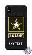 Us Army Military Personalized Phone Case For Iphone 11pro Samsung Lg Google 4