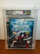 Blazblue Calamity Trigger Ps3 - Limited Collector's Edition Vga Gold 90