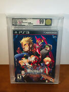 Blazblue Continuum Shift Extend Ps3 - Limited Collector's Edition Vga Gold 90