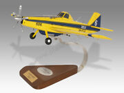 Air Tractor At-802a Water Bomber Parks Wildlife Solid Handcrafted Display Model