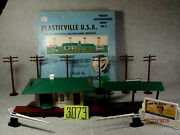 Plasticville Vtg. -the Town That Grows And Grows-,train Accessories Unit Ta-1,ob