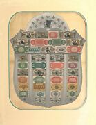 Us Fractional Currency Shield 16x20 Poster Hi-quality Photo Great For Framing