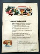 1954 Sports Illustrated Subscription Ad Spread The Warmth And Fun To Your Friends