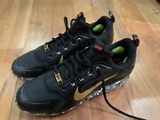 Buster Posey Giants Mlk Jackie Robinson Commemorative Game Used Cleats Petco