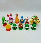 2009 Nintendo Super Mario Chess Game Replacement Pieces Parts Toppers Bowser