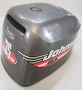 5000437 Johnson Evinrude 1999 Top Cowl Engine Cover Hood 25 35 Hp 3 Cylinder