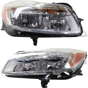 Headlight Lamp Left-and-right Gm2502353c Gm2503353c 22794766 22794767 Lh And Rh