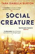 Social Creature 'meet Your New One-sitting Read' Red By Tara Isabella Burton
