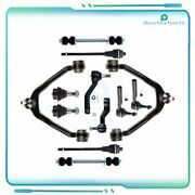 12pc Front Steering Parts And Suspension Kit Fits 1999-2006 Cadillac Escalade Ext